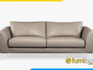 Mẫu ghế sofa văng da FB20050